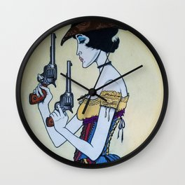 Wanted - Hesper Fleet - Outlaw Wall Clock
