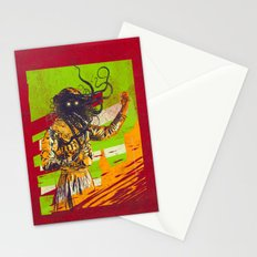 Mad scientist Stationery Cards