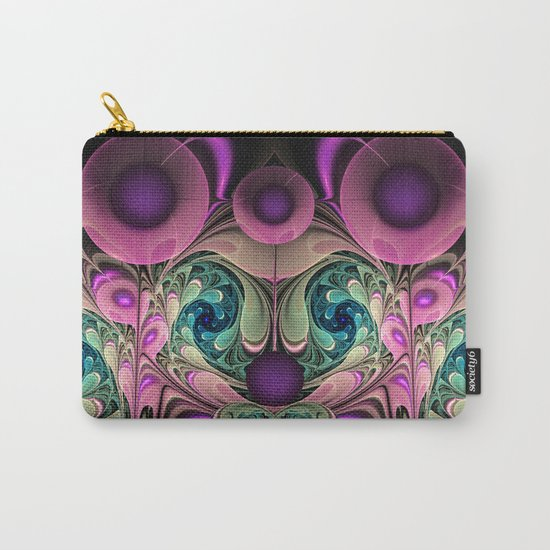 Evening Splendour, fractal abstract Carry-All Pouch