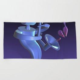 Notecracker Beach Towel