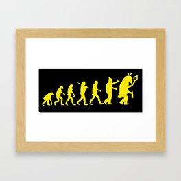 Fil·loevolució Framed Art Print