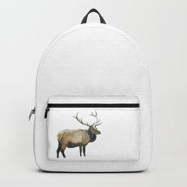 Stag in a Snow Storm Backpack