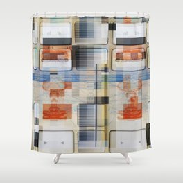 good old 80ies Shower Curtain