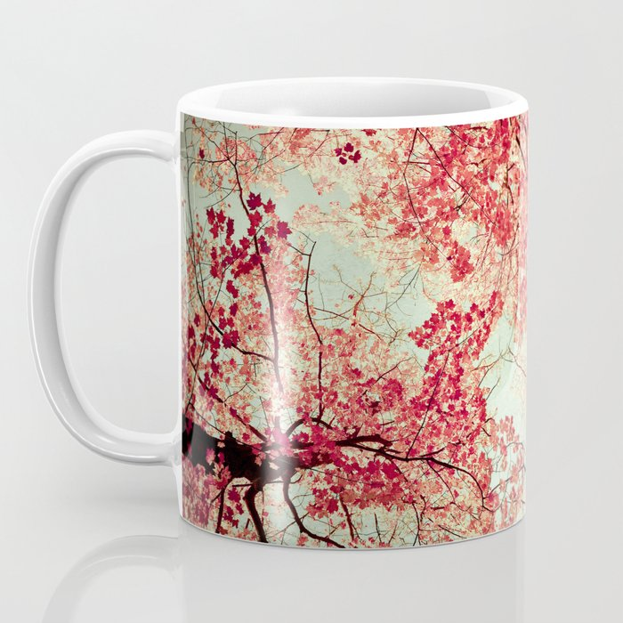 Autumn Inkblot Coffee Mug