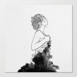 Deep ocean of secrets. Canvas Print