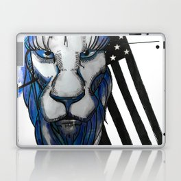 Bold as the Lion Laptop & iPad Skin