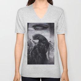 Alien - Xenomorph Unisex V-Neck
