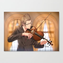 Ignis with violin Canvas Print