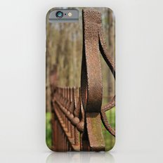 Rusted Wrought Iron.... iPhone 6s Slim Case