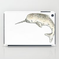 narwhal iPad Cases featuring Narwhal by TheColorK