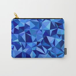 Blue tile mosaic Carry-All Pouch