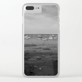 From the Shore - Plymouth Massachusetts Shoreline Clear iPhone Case