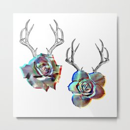 TROPHIES AND ROSES Metal Print