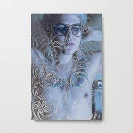 Androqueer, Clipped Fangs I Metal Print