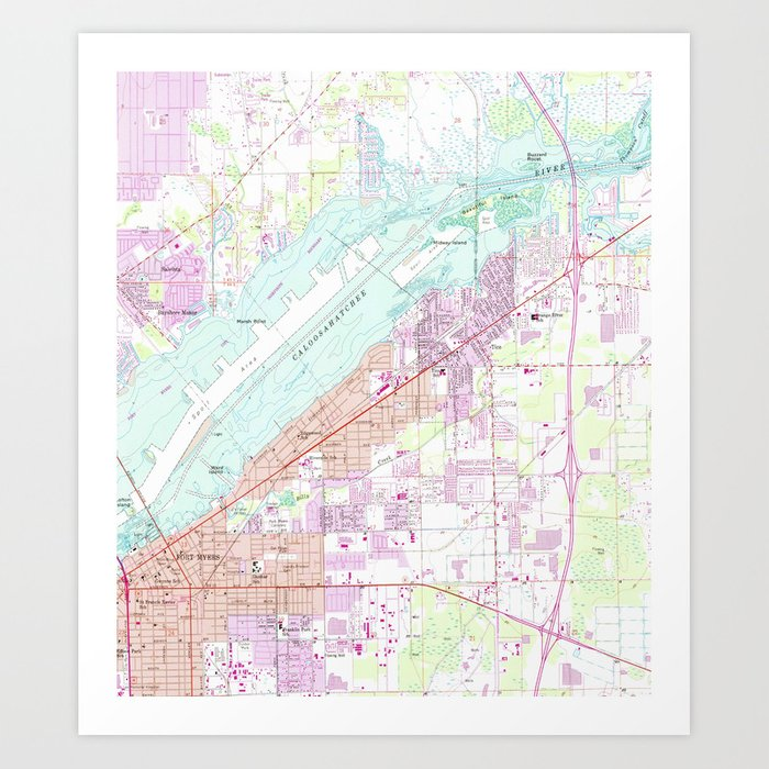 Map Of Fort Myers on