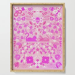 Kitten Lovers – Pink Ombré Serving Tray