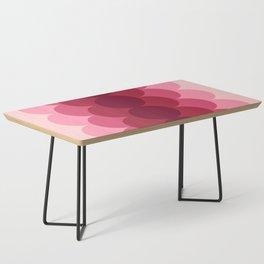 Gradual Pink Coffee Table