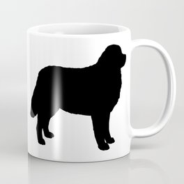 Bernese Mountain Dog Silhouette(s) Coffee Mug