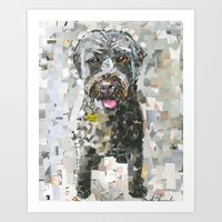 ginger Art Prints featuring Ginger by Maritza Hernandez