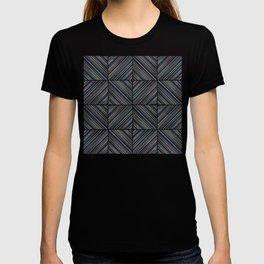 Herringbone Diamonds - Moss T-shirt