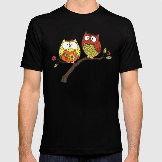 Decorative Owls T-shirt