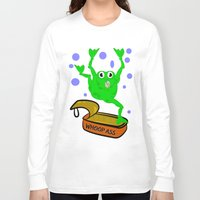 frog Long Sleeve T-shirts featuring Frog by mailboxdisco