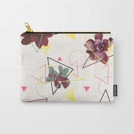 Spatial Succulents #redbubble #decor #buyart Carry-All Pouch