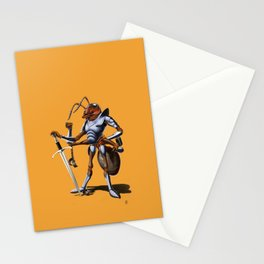 Soldiering On (colour) Stationery Cards