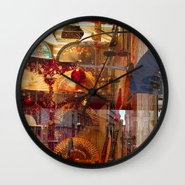 Reflections of Madrid Wall Clock