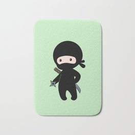 Tiny Ninja Bath Mat