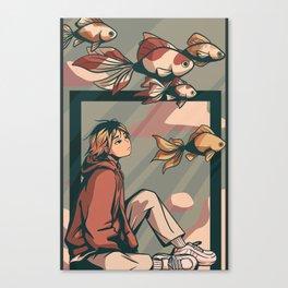 Kenma Haikyuu Canvas Print