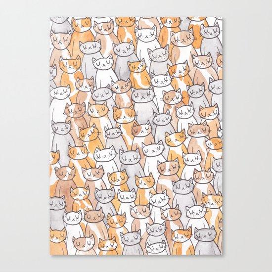 Sleepy Cats Canvas Print