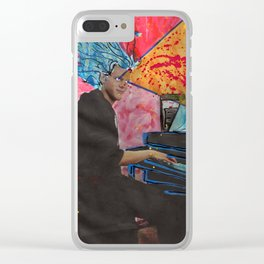 Super Sonata Saiyan Alex Plays Through the New Deluge Clear iPhone Case