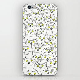 All Cat Eyes Are On You iPhone Skin