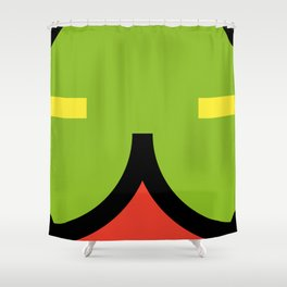 face 2 Shower Curtain
