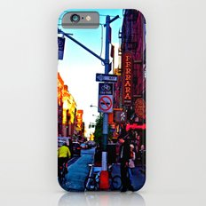 Sun Goes Down  in the City iPhone 6s Slim Case