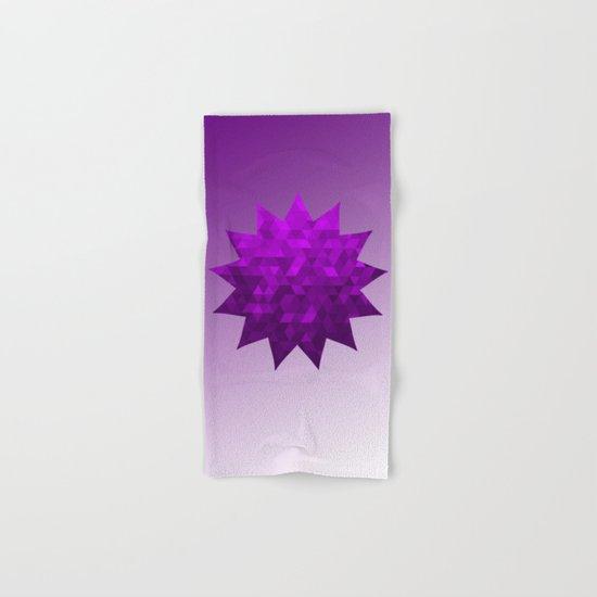 Kwan Yin's Star | Purple Flame | Compassion Hand & Bath Towel