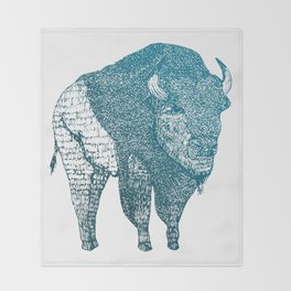 The Bison Throw Blanket