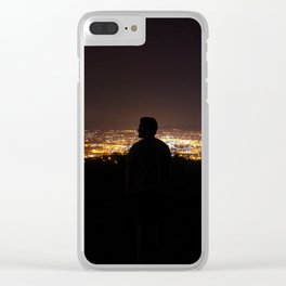Southern California Clear iPhone Case