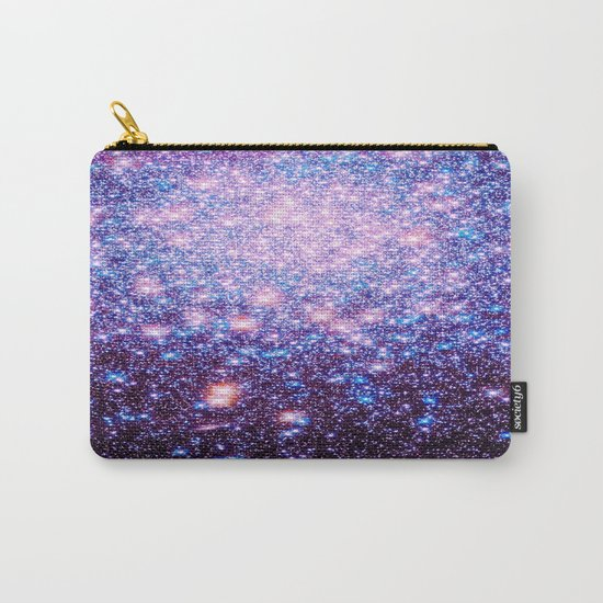 GaLaxY Stars : Pink Purple Blue Carry-All Pouch