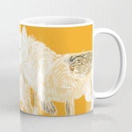 Totem wolf (Canis lupus nubilus (pair) (c) 2017 Coffee Mug