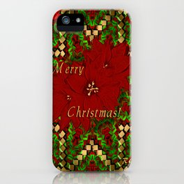 Merry Christmas - Christmas Art By Giada Rossi iPhone Case