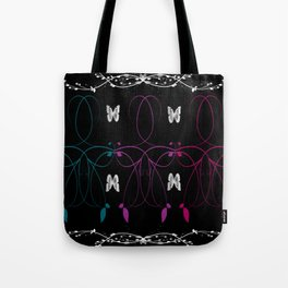 Butterfly Etch Tote Bag
