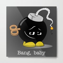 Sultry Bob-omb Metal Print