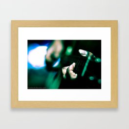 Life of Music Framed Art Print
