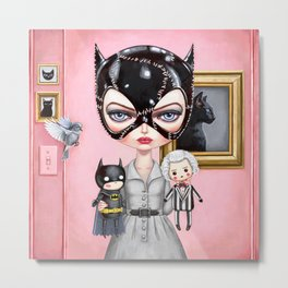 Catwoman - Playtime For Kitty Metal Print