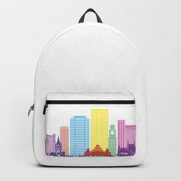 Rio de Janeiro V2 skyline pop Backpack