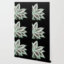 Agave Finesse Glitter Glam #2 #tropical #decor #art #society6 Wallpaper