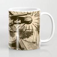 sandman Mugs featuring The Sandman by DOOMSDAY