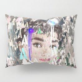 Audrey Type Abstract Art Pillow Sham
